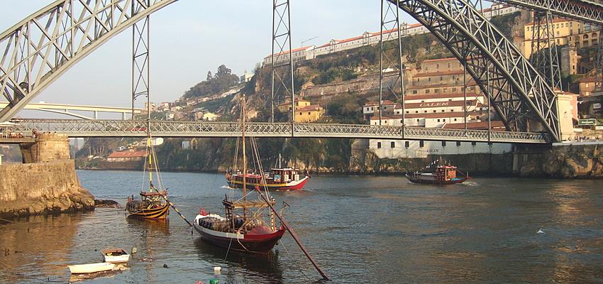 Sur les rives de Porto
