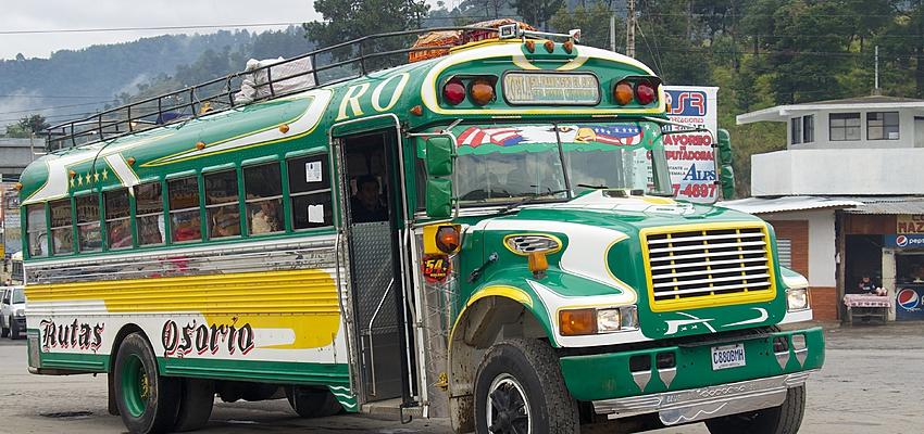 Bus du Guatemala
