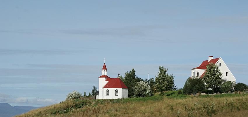 Eglise islandaise, côte sud