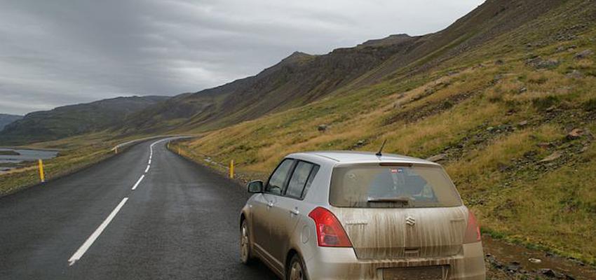 El coche, la mejor forma de atravesar Islandia
