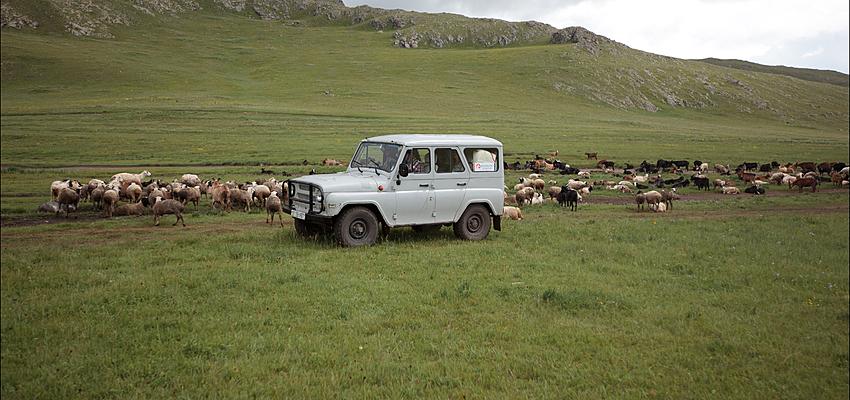 Transporte en Mongolia