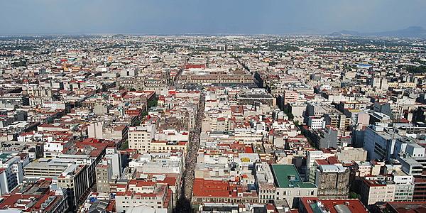 Ciudad de México al horizonte