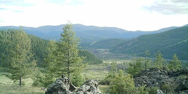 Valle de Orkhon, de camino hacia los ocho lagos
