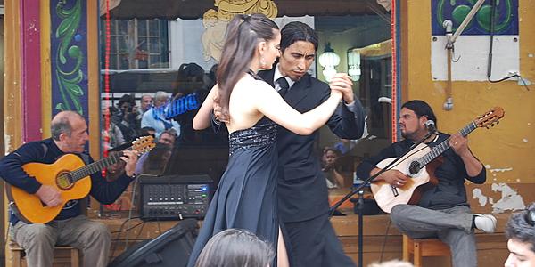 Tango à La Boca