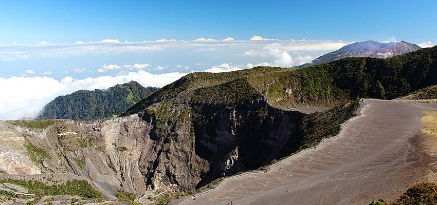 El Volcán Irazú