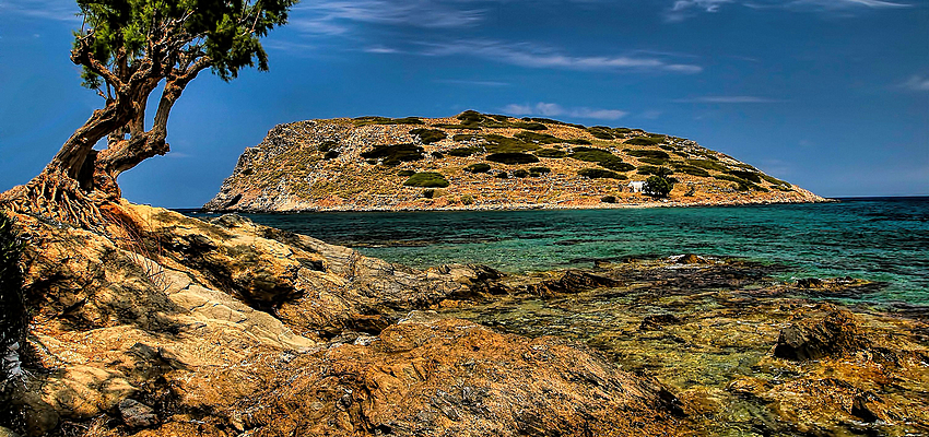 Paysage à Crète