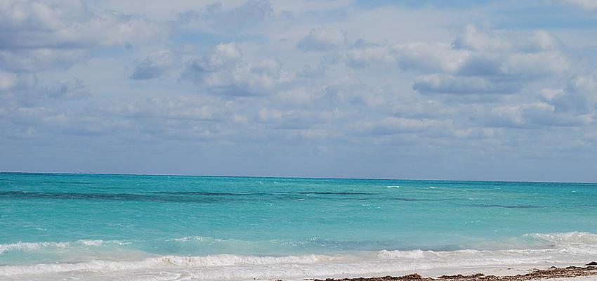 Vues sur la mer des Caraïbes