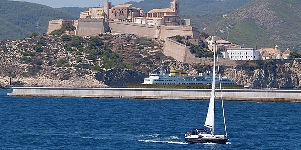 La vieille ville d'Ibiza