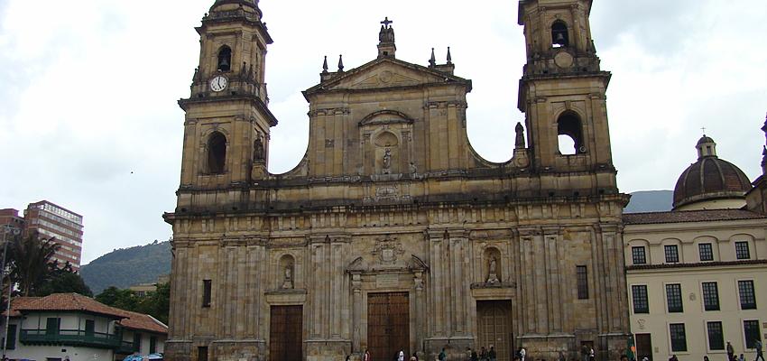 La Cathédrale Primada à Bogota