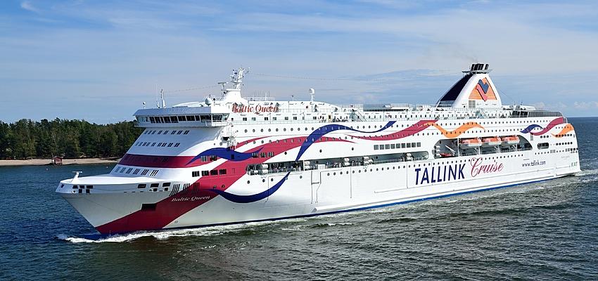 Un des nombreux ferry de Finlande