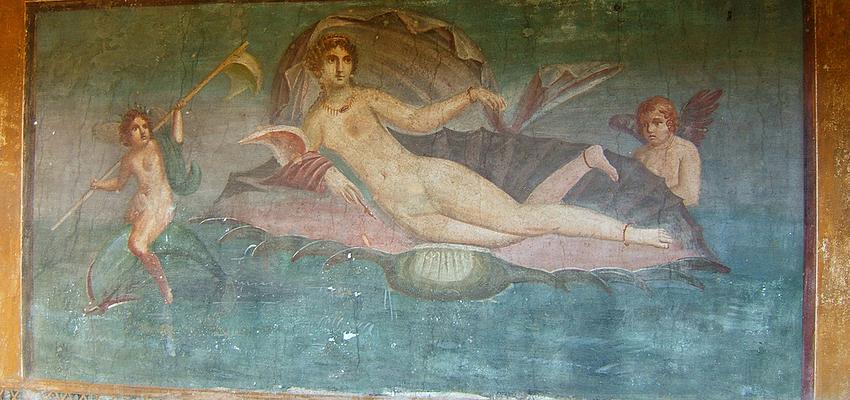 Pompeya: el baño de Afrodita