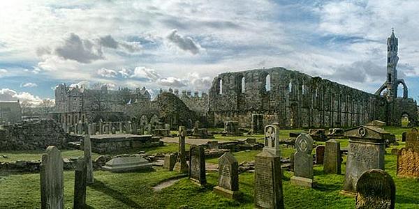 El cementerio de Saint Andrews