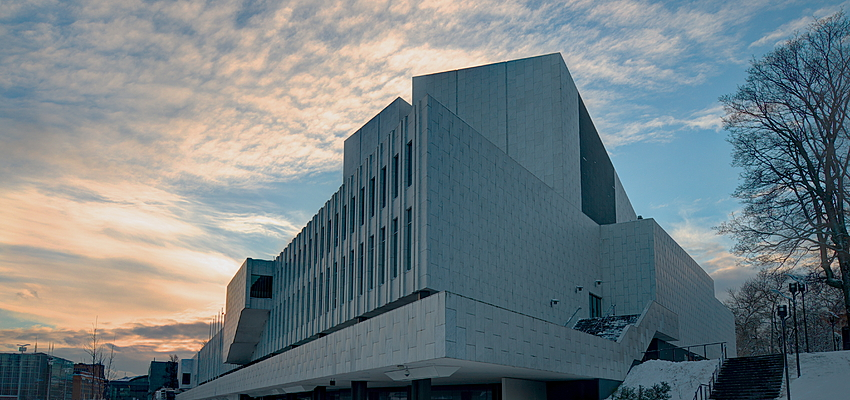 El Palacio Finlandia de Alvar Aalto en Helsinki