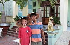 Combiné en famille entre Vietnam et Cambodge