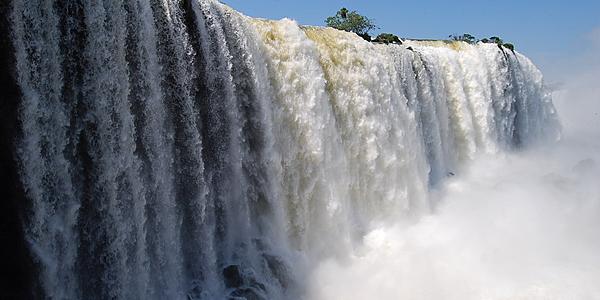 Le cascate più da vicino