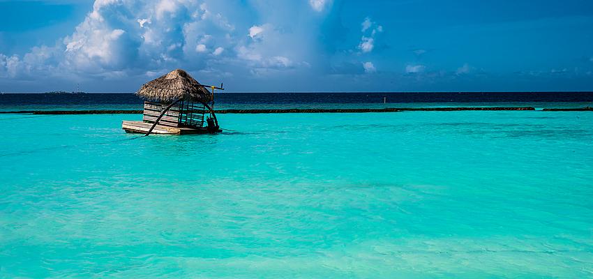 En las Maldivas