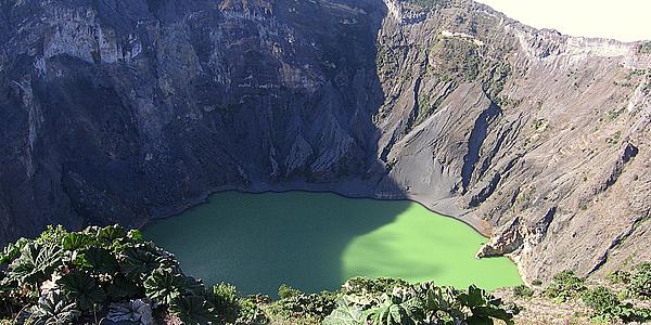Cratère du volcan Irazú