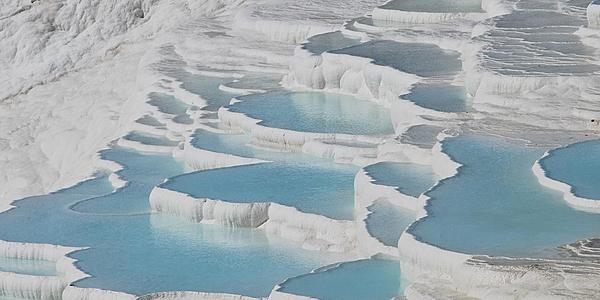 I bacini di acque termali di Pamukkale