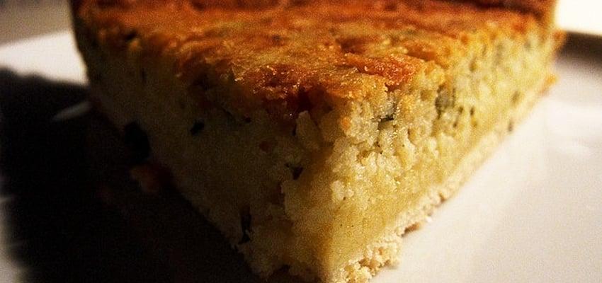 Le flaó, un gâteau typique d'Ibiza