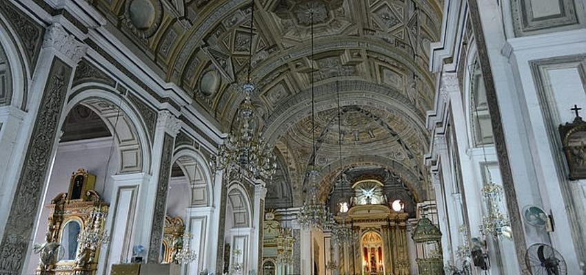 Eglise de San Agustín, héritage de l'occupation espagnole