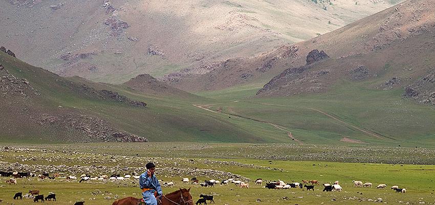 En Mongolia