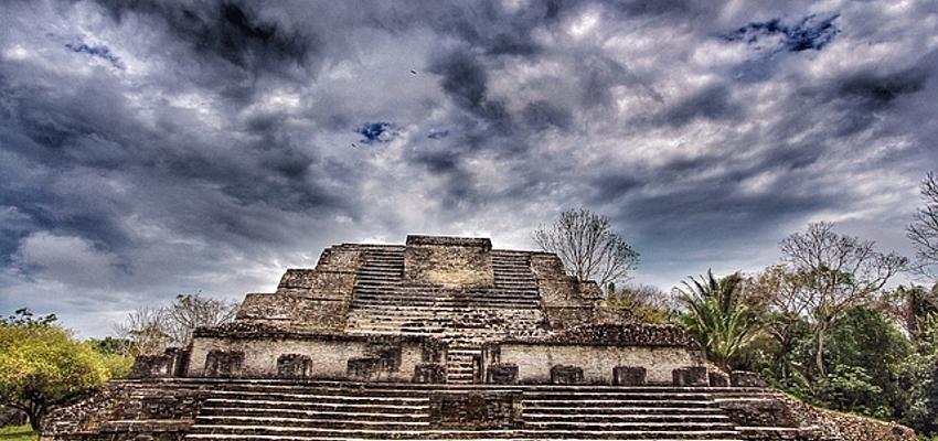 Templo del dios Sol maya