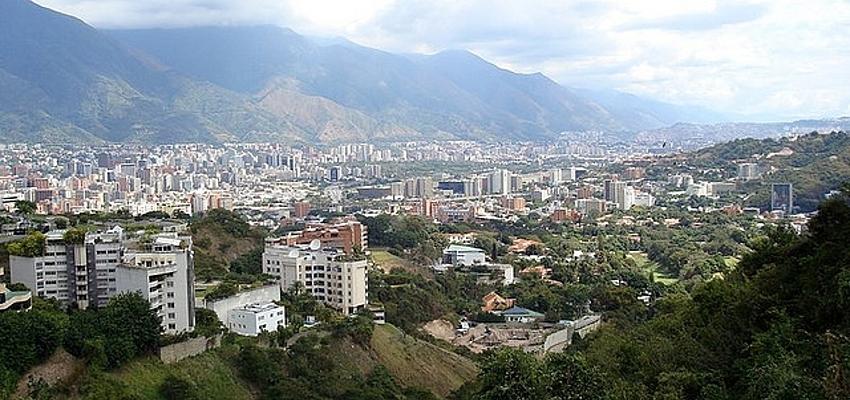 Vista de Caracas, la capital