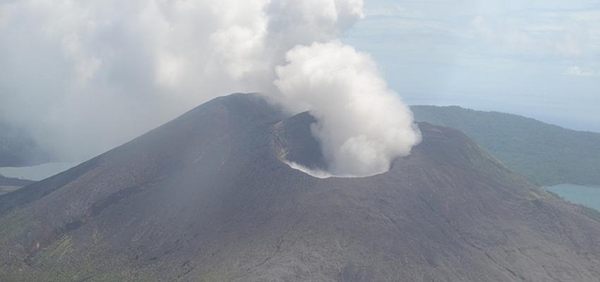 Le volcan du mont Gharat