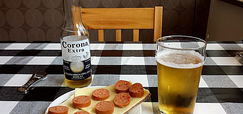 Una tapa y una cerveza !