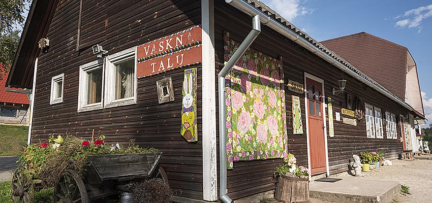 Ferme auberge dans le sud de l'Estonie