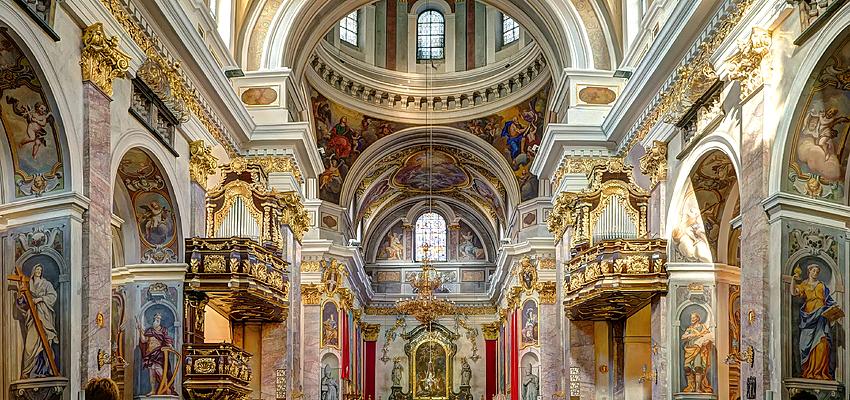 Interior de la catedral de Liubliana