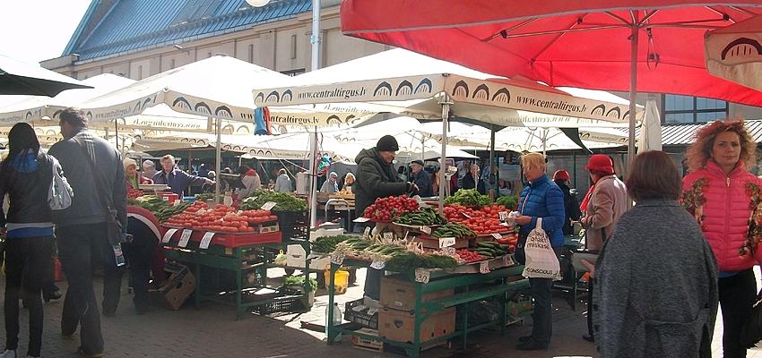 El mercado de Riga