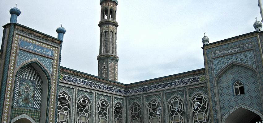 Mezquita en Tayikistán