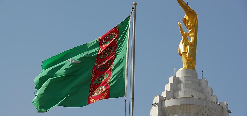 Drapeau du Turkmenistan