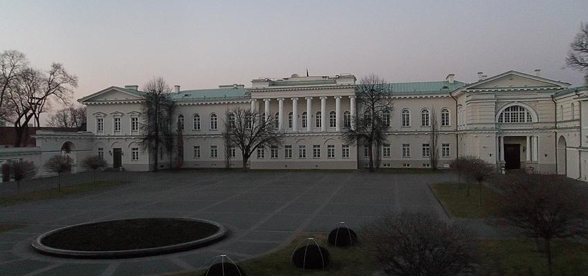 Le Palais Présidentiel à Vilnius