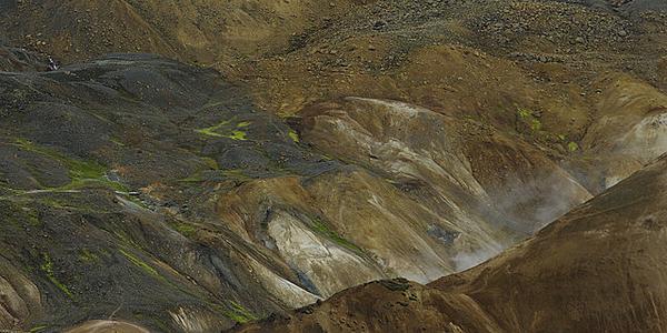 Les fumerolles de Hveraladir
