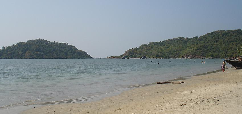 Playa de Palomee, Goa