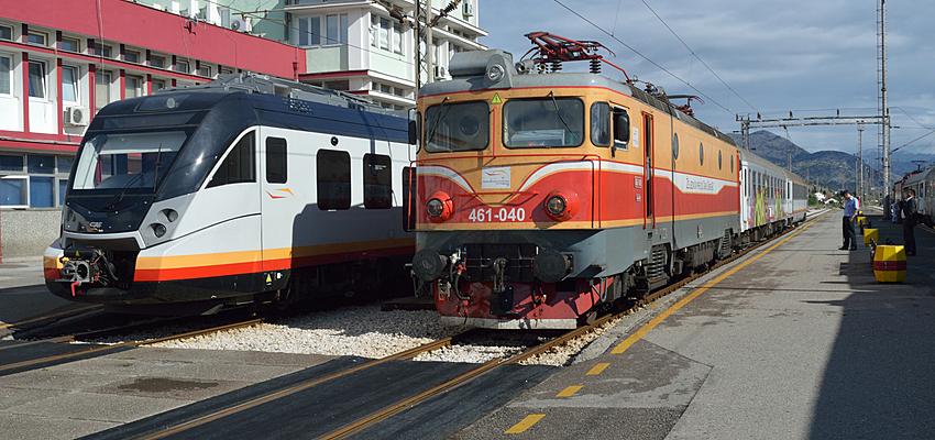 Trenes en Podgorica