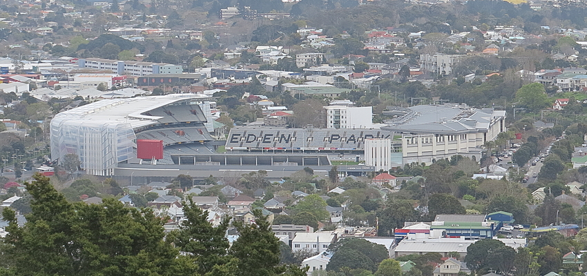 Le mythique stade Eden Park à Auckland