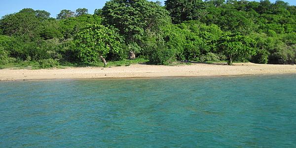 La plage de l'îlot Bandrélé