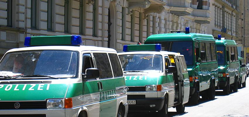 Véhicules de police au Monténégro