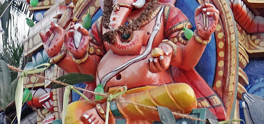 Tempio dedicato a Ganesh