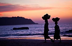 Relaxation birmane, de l\'Irrawady à Ngapali