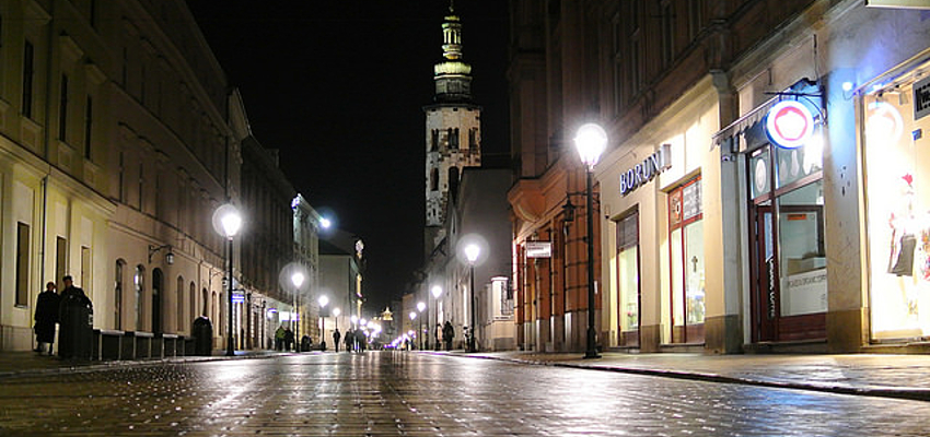 Centre-ville de Cracovie