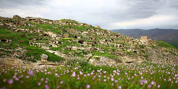 At the summit of Hasankeyf
