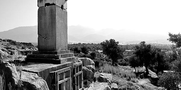 Tombe des Harpies de Xanthos, Turquie