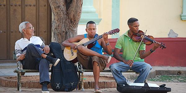 Músicos por la calle