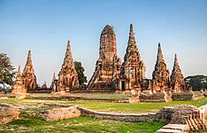 Autour de l'I-Saan et de ses temples Khmers