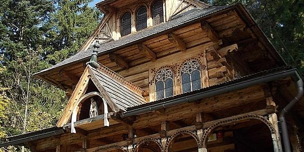 Casa tradicional en Zakopane