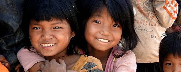 Ma famille en Birmanie